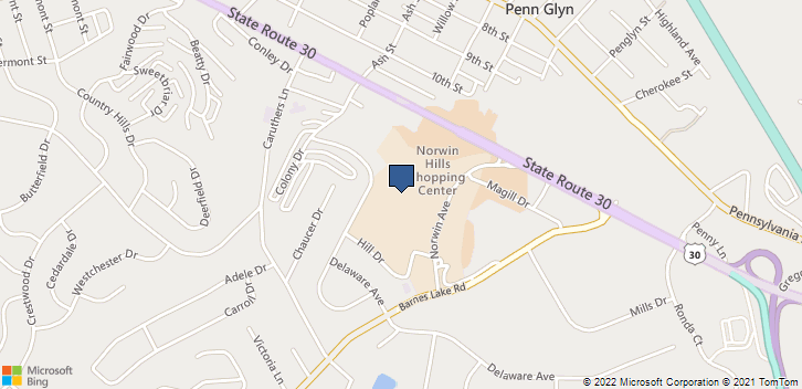8775 Norwin Avenue Irwin, PA, 15642 Map
