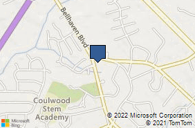 Bing Map of 8810 Bellhaven Blvd Charlotte, NC 28214