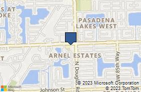 Bing Map of 8936 Taft St Pembroke Pines, FL 33024