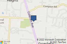 Bing Map of 8950 Colerain Ave Cincinnati, OH 45251