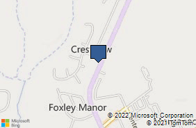 Bing Map of 896 Washington Ave Chestertown, MD 21620