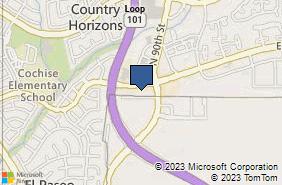 Bing Map of 8989 E Via Linda Ste 213 Scottsdale, AZ 85258