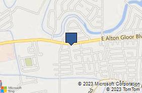 Bing Map of 900 E Alton Gloor Blvd Ste 4 Brownsville, TX 78526