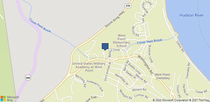 900 Washington Rd West Point, NY, 10996 Map
