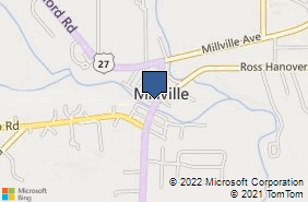 Bing Map of 901 Walnut St Ste A Rossville, OH 45013
