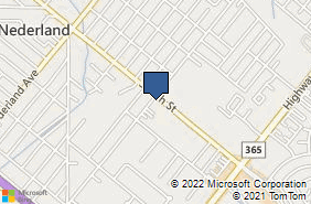 Bing Map of 902 S 27th St Nederland, TX 77627