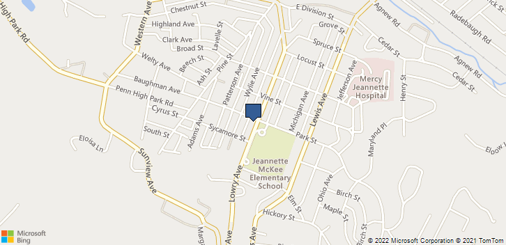 903 Lowry Ave Jeannette, PA, 15644 Map