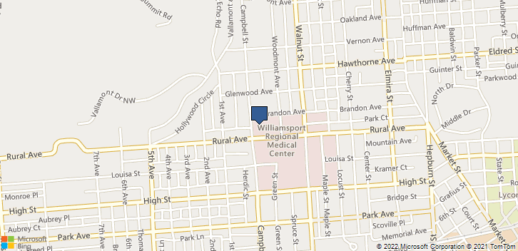 904 Campbell St Williamsport, PA, 17701 Map