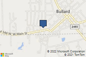 Bing Map of 904 W Main St Ste A Bullard, TX 75757