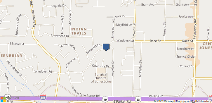 905 Windover Rd  Jonesboro, AR, 72401 Map