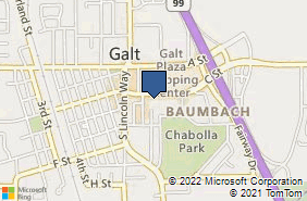 Bing Map of 908 C St Ste A Galt, CA 95632