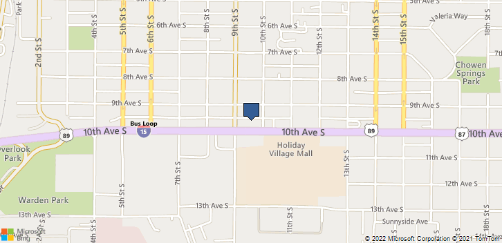 909 10th Ave S Great Falls, MT, 59405 Map