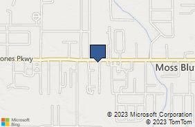 Bing Map of 909 Sam Hstn Jons Pkwy Ste A Lake Charles, LA 70611