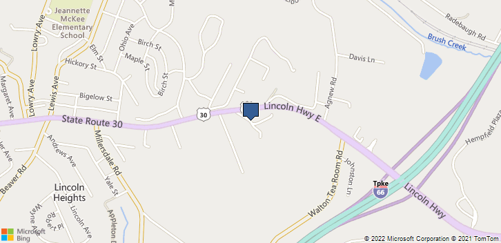 91 Lincoln Way E Jeannette, PA, 15644 Map
