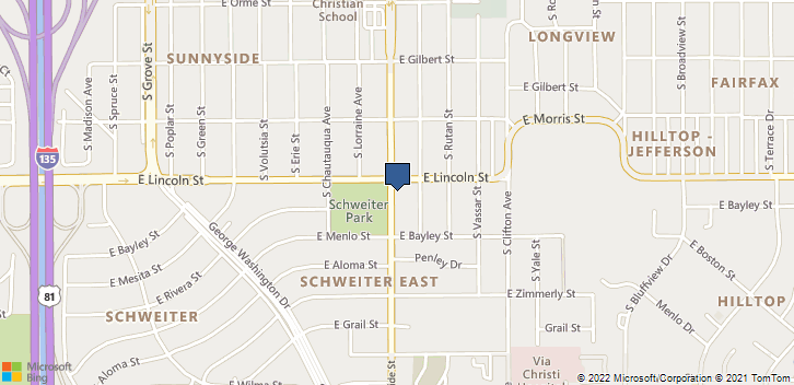 910 South Hillside Street Wichita, KS, 67211 Map
