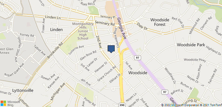 9101 2nd Ave Silver Spring, MD, 20910 Map