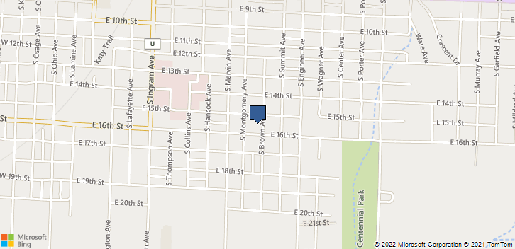 911 E 16th St Sedalia, MO, 65301 Map