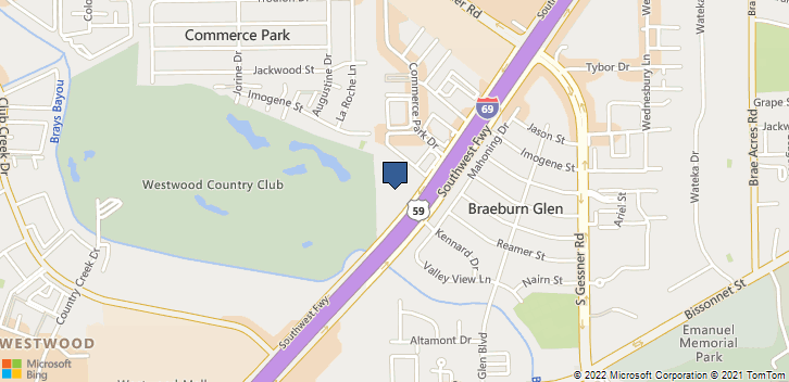 9120 SW Fwy Houston, TX, 77074 Map