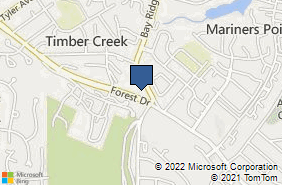 Bing Map of 914 Forest Dr Ste 201 Annapolis, MD 21403
