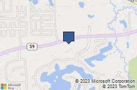 Bing Map of 9145 Highland Rd White Lake, MI 48386