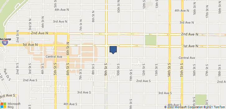 917 Central Ave Great Falls, MT, 59401 Map