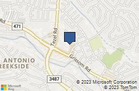 Bing Map of 9179 Grissom Rd Ste 133 San Antonio, TX 78251