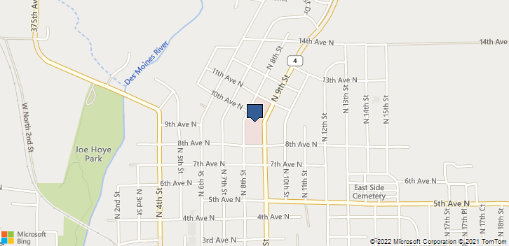 926 N 8th St Estherville, IA, 51334 Map