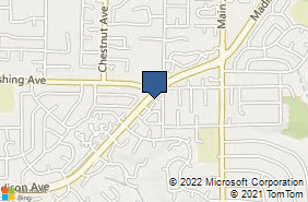 Bing Map of 9288 Madison Ave Orangevale, CA 95662