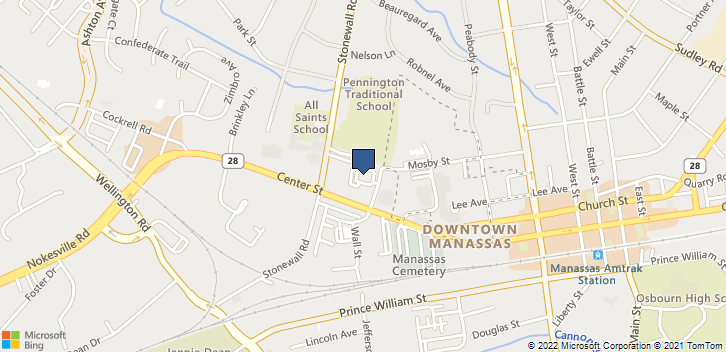 9302 W Courthouse Rd Manassas, VA, 20110 Map