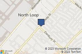 Bing Map of 9310 Broadway St Ste 102 San Antonio, TX 78217
