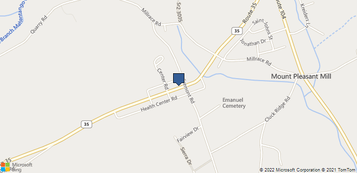 9336 Route 35 Perry Twp, PA, 17853 Map