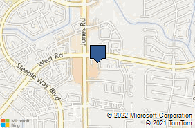 Bing Map of 9344 Jones Rd Ste C Houston, TX 77065