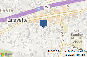 Bing Map of 936 Dewing Ave Ste F Lafayette, CA 94549