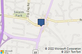 Bing Map of 9361 Montgomery Rd Ste E Cincinnati, OH 45242