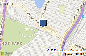 Bing Map of 939 McLean Ave Yonkers, NY 10704