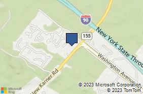 Bing Map of 94 New Karner Rd Albany, NY 12203