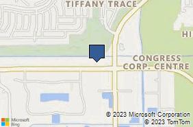 Bing Map of 941 Clint Moore Rd Boca Raton, FL 33487