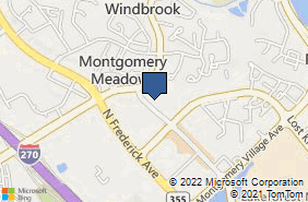 Bing Map of 943 Russell Ave Ste B Gaithersburg, MD 20879