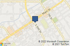 Bing Map of 947 D St Ramona, CA 92065