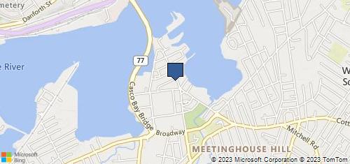 Bing Map of 95 Ocean St S. Portland, ME 04106