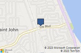 Bing Map of 950 Fay Blvd Cocoa, FL 32927
