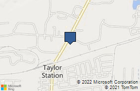 Bing Map of 950 Taylor Station Rd Ste Q Gahanna, OH 43230