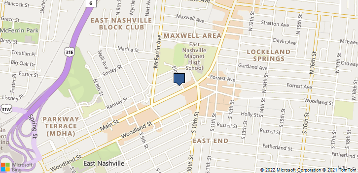 953 Main St Nashville, TN, 37206 Map