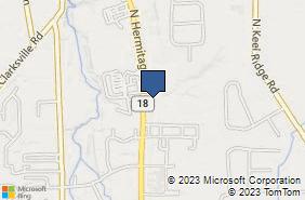 Bing Map of 966 N Hermitage Rd Hermitage, PA 16148