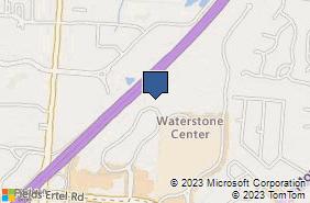 Bing Map of 9673 Kings Auto Mall Rd Cincinnati, OH 45249
