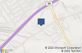 Bing Map of 969 Eisenhower Blvd Ste B Johnstown, PA 15904