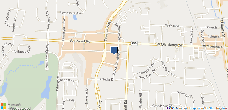 9711-C Sawmill Pkwy Powell, OH, 43065 Map