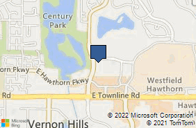 Bing Map of 977 Lakeview Pkwy Ste 120 Vernon Hills, IL 60061