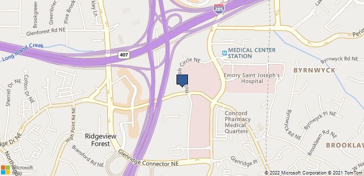 980 Johnson Ferry Rd Ne Atlanta, GA, 30342 Map