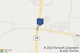 Bing Map of 9801 Wesley St Ste 103 Greenville, TX 75402